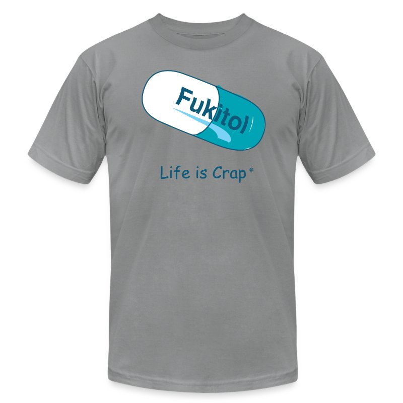 Fukitol - Mens T-shirt by American Apparel - Men's T-Shirt by American Apparel