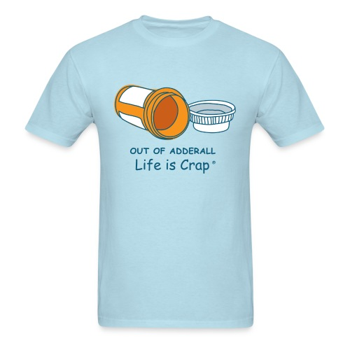 Out Of Adderall - Mens Classic T-shirt - Men's T-Shirt