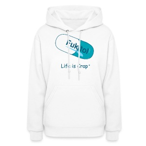 Fukitol - Womens Hooded Sweatshirt - Women's Hoodie