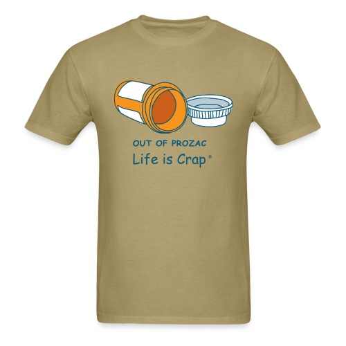 Out Of Prozac - Mens Classic T-shirt - Men's T-Shirt