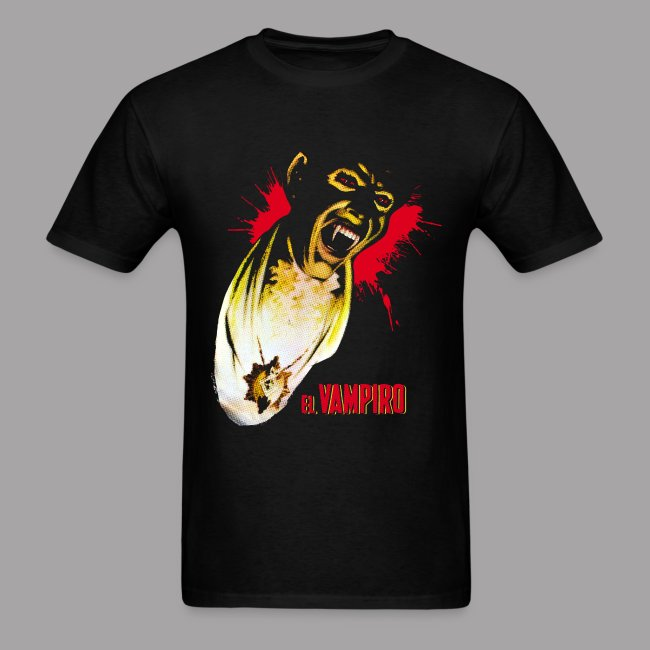 El Vampiro Vampire Dracula Halloween Horror Men's Shirt