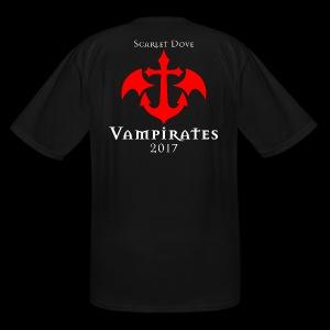 Scarlet Dove Vampirates 2017 Commemorative Men's T-Shirt (Big and Tall) - Men's Tall T-Shirt