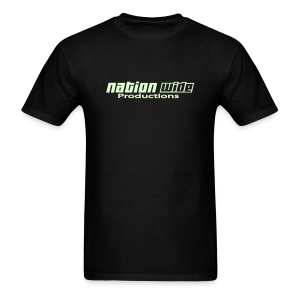 Glow on Black Tee - Men's T-Shirt