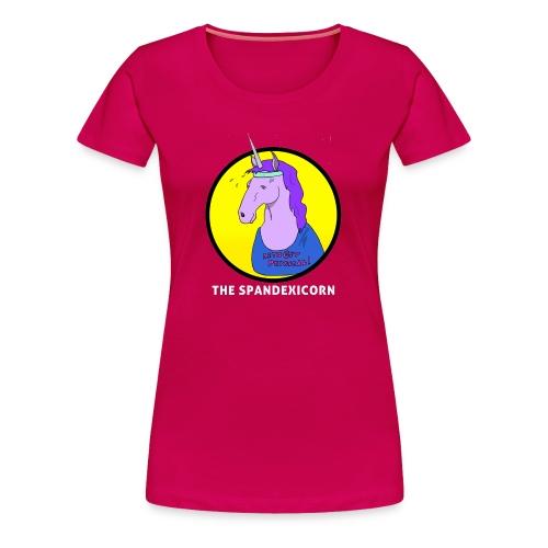 Spandexicorn - Women's Premium T-Shirt