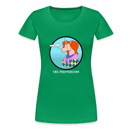Preppercorn - Women's Premium T-Shirt