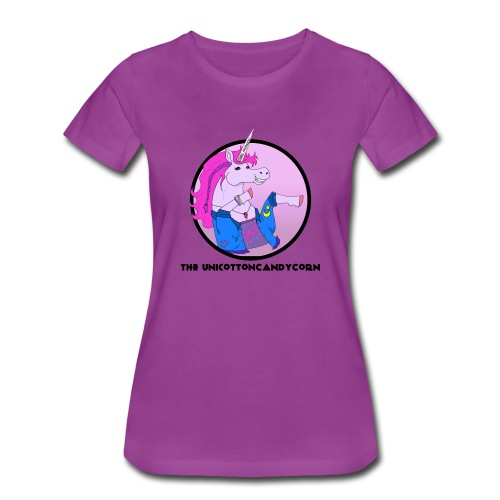 Unicottoncandycorn - Women's Premium T-Shirt