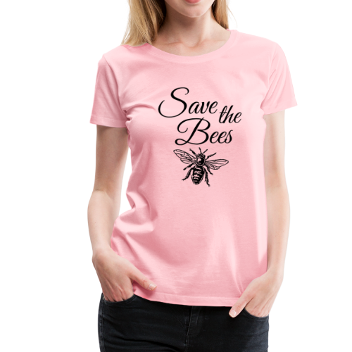 Save the Bees Beekeeper T-Shirt - Women's Premium T-Shirt