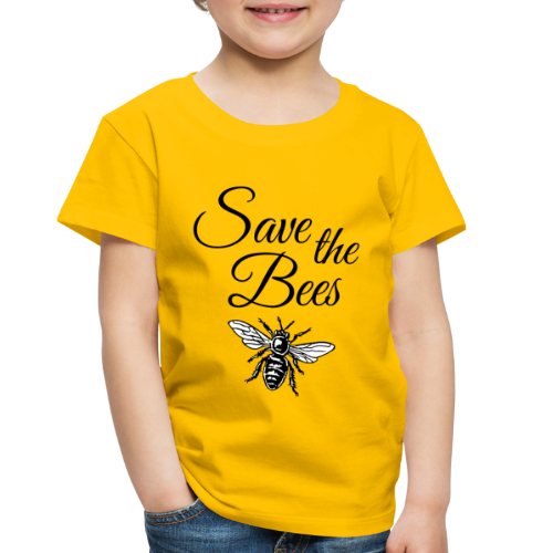 Save the Bees Beekeeper T-Shirt - Toddler Premium T-Shirt