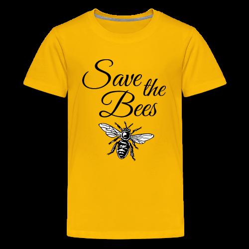 Save the Bees Beekeeper T-Shirt - Kids' Premium T-Shirt