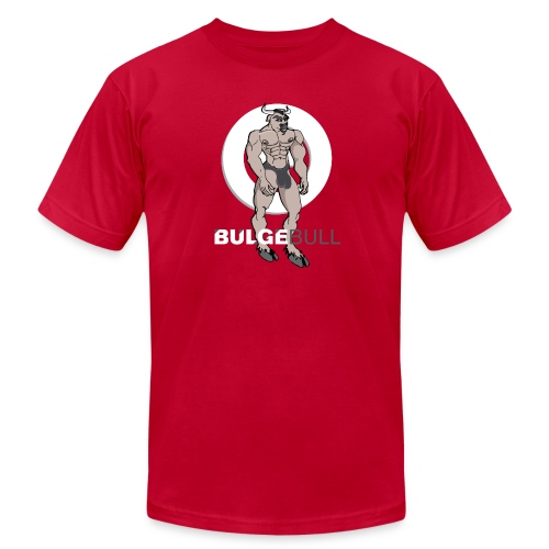 BULGEBULL MINOTAUR 2 - Men's T-Shirt by American Apparel