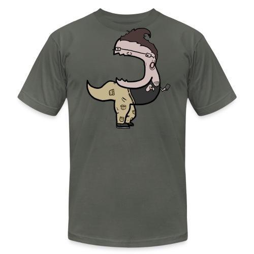 Men's Fine Jersey T-Shirt - Hipster T-Rext T-shirt