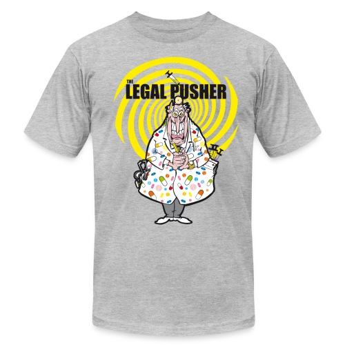 legalpusher.gif - Men's T-Shirt by American Apparel