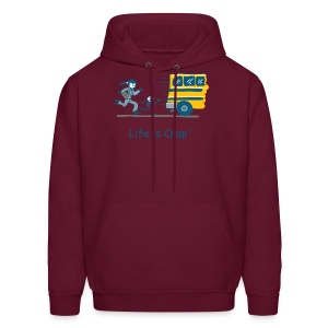School Bus - Mens Hooded Sweatshirt - Men's Hoodie