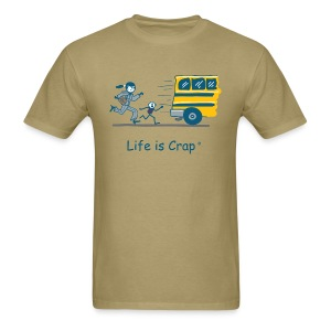 School Bus - Mens Classic T-shirt - Men's T-Shirt