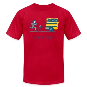 School Bus - Mens T-shirt by American Apparel - Men's T-Shirt by American Apparel