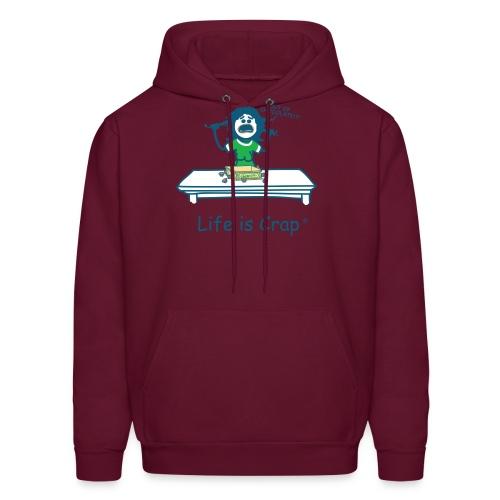 Out Of Chocolate - Mens Hooded Sweatshirt - Men's Hoodie