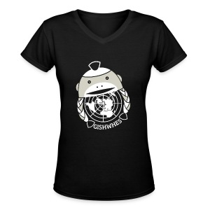 GISHWHES [DESIGN BY THISISNOTBRUCE] - Women's V-Neck T-Shirt