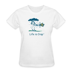Rainy Day - Womens Classic T-shirt - Women's T-Shirt
