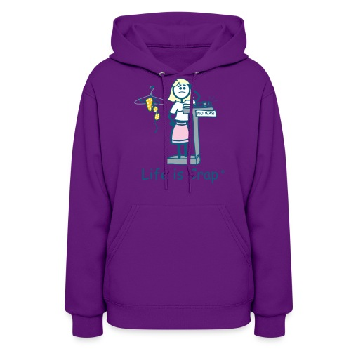 Bikini Weight - Womens Hooded Sweatshirt - Women's Hoodie