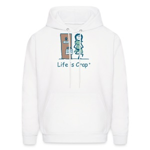 Lady Pee - Mens Hooded Sweatshirt - Men's Hoodie