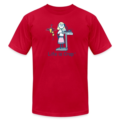Bikini Weight - Mens T-shirt by American Apparel - Men's Fine Jersey T-Shirt