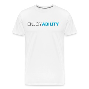 Men's ENJOYABILITY Tee - Men's Premium T-Shirt