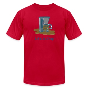 Coffee Maker - Mens T-shirt by American Apparel - Men's T-Shirt by American Apparel