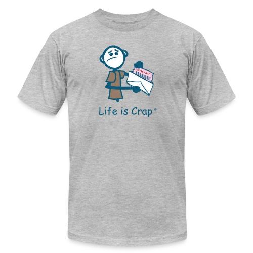 Pink Slip - Mens T-shirt by American Apparel - Men's Fine Jersey T-Shirt