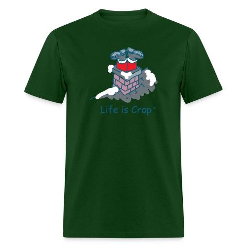 Santa Stuck - Mens Classic T-shirt - Men's T-Shirt