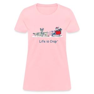 Reindeer Poop - Womens Classic T-shirt - Women's T-Shirt