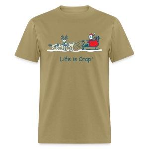 Reindeer Poop - Mens Classic T-shirt - Men's T-Shirt
