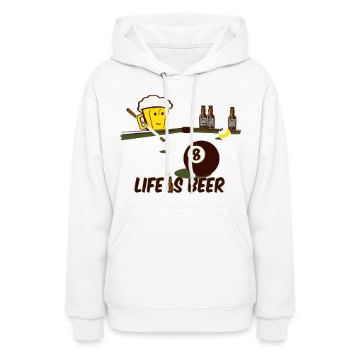 Beer Billiards - Women's Hoodie
