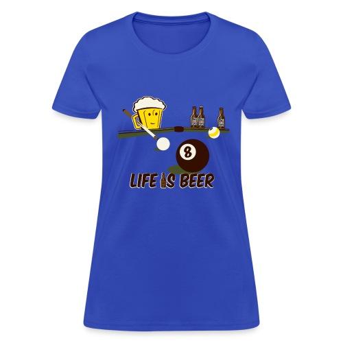 Beer Billiards - Women's T-Shirt