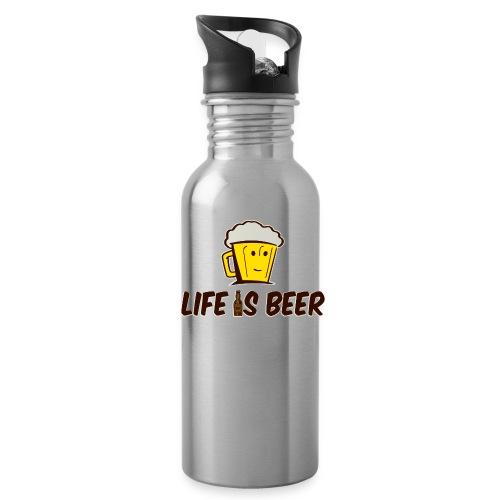 LIFE IS BEER - Water Bottle