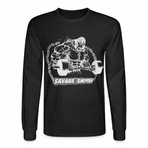 Beast Long Sleeve Shirt - Black - Men's Long Sleeve T-Shirt