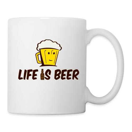 LIFE IS BEER - Coffee/Tea Mug