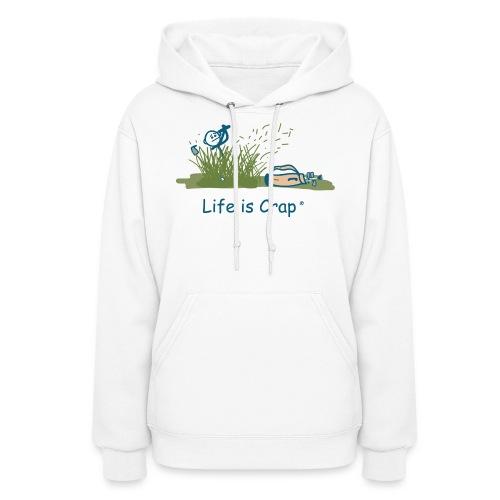 Rough Golf - Womens Hooded Sweatshirt - Women's Hoodie