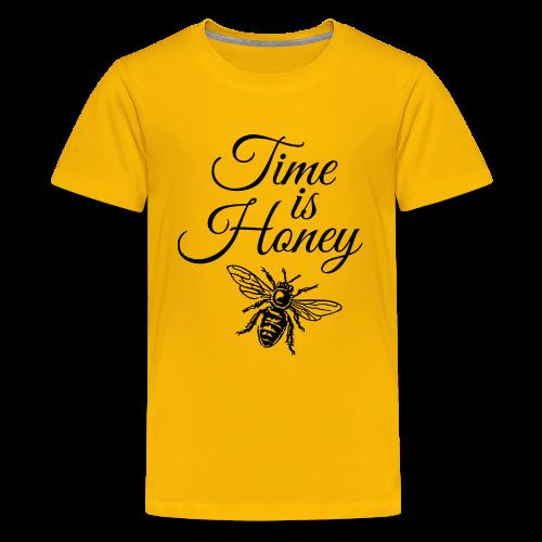 Time is Honey Beekeeper T-Shirt - Kids' Premium T-Shirt