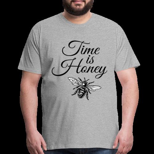 Time is Honey Beekeeper T-Shirt - Men's Premium T-Shirt