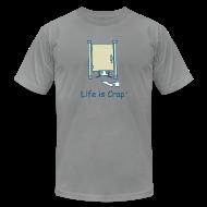 T-Shirts ~ Men's T-Shirt by American Apparel ~ Rolling TP - Mens T-shirt by American Apparel