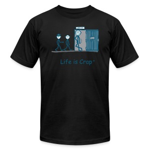 Prison Cell Mates - Mens T-shirt by American Apparel - Men's T-Shirt by American Apparel