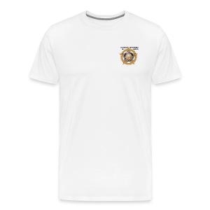 White COLORADO DEPARTMENT OF JUSTICE T-shirt - Men's Premium T-Shirt