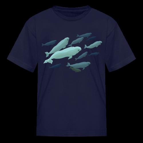 Beluga Whale Kid's Shirts Baby Beluga T-Shirts - Kids' T-Shirt