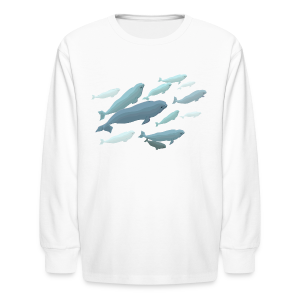 Beluga Whale Shirts Kids Beluga Shirts & Gifts - Kids' Long Sleeve T-Shirt