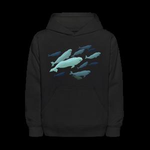 Beluga Whale Hoodie Kids Beluga Sweatshirts - Kids' Hoodie