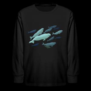 Beluga Whale Shirts Baby Beluga Shirts & Gifts - Kids' Long Sleeve T-Shirt