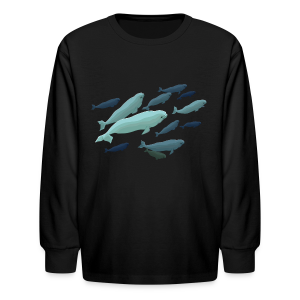 Beluga Whale Shirts Baby Beluga Shirts & Gifts - Kids' Long Sleeve T-Shirt