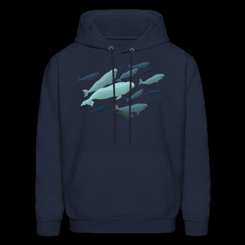 Beluga Whale Hoodie Beluga Shirts & Jackets - Men's Hoodie