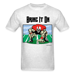 Football - Bring it on 001 - bw - Men's T-Shirt