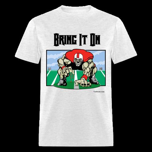 Football - Bring it on 001 - bw - Men's T-Shirt